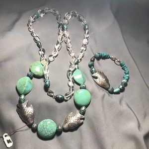 Handmade one of a kind necklace!